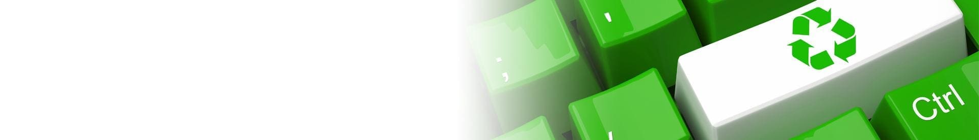 Wtórplast Recykling - Banner - Ekologiczna klawiatura