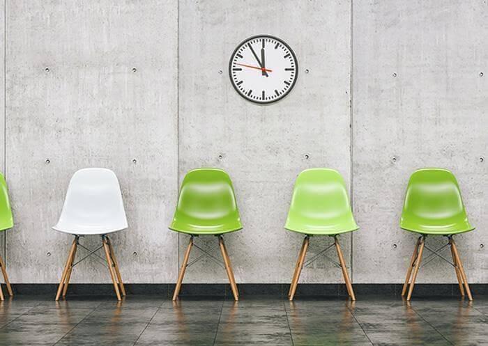 Krzesła wpoczekalni
