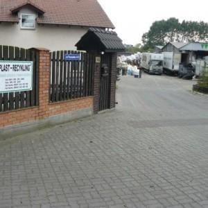 główna brama wjazdowa do firmy