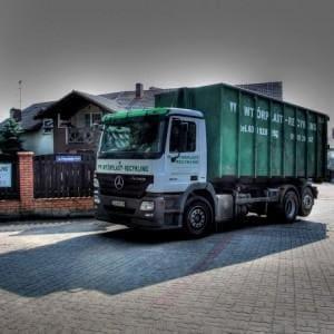 samochód ciężarowy Wtórplast-Recykling